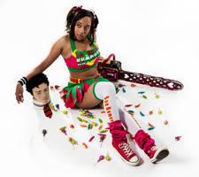 juliet starling- lollipop chainsaw by BriBarnes