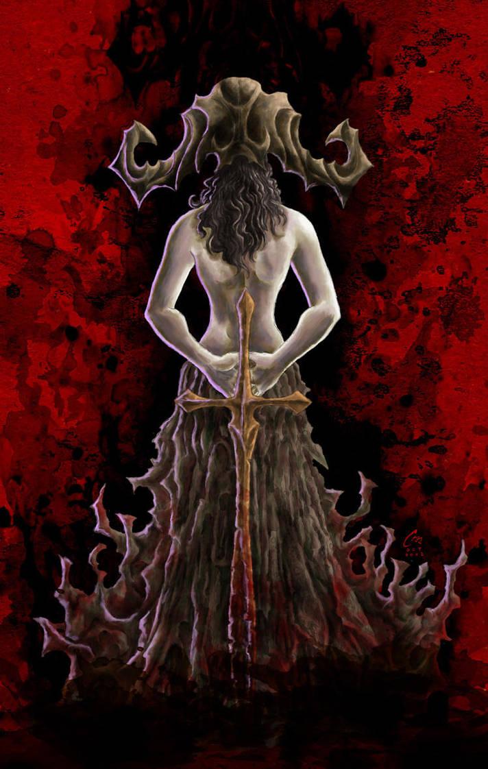 Black Queen II by Drago-the-Dark-Klown