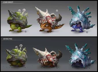 Lizards Creatures. by Jaydekim