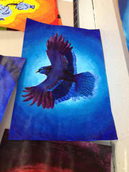 Cool Bird by Allybee123