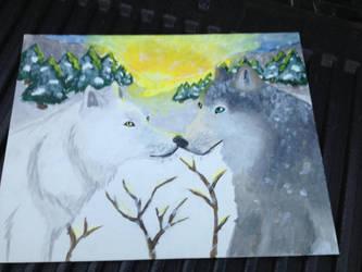 Wolf Love by Allybee123