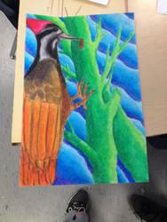 Pastel Bird by Allybee123