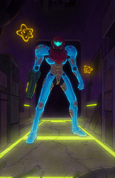 Fusion Suit Samus Redesign by Tyzilla33191