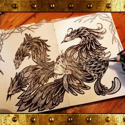 sketchbook by Kentrkatty1