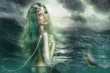The Hostess of Scandinavian fjords by BrietOlga