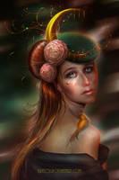 Moon Maiden Loona by BrietOlga