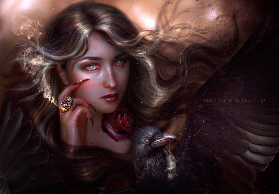 Enchantress Helga by BrietOlga
