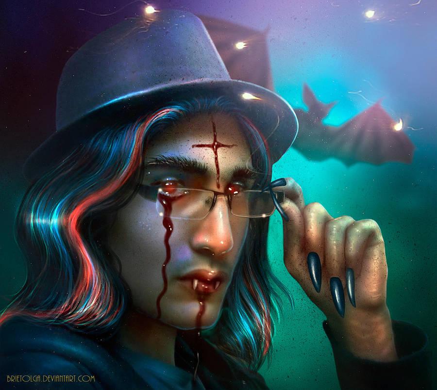 Vampire's Regrets - NEW WORK! by BrietOlga