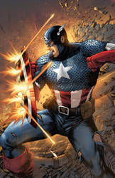 Captain America by NesTHORcolors