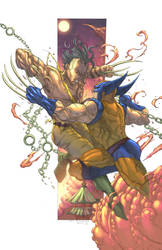 Wolverine Vs Daken Von by NesTHORcolors