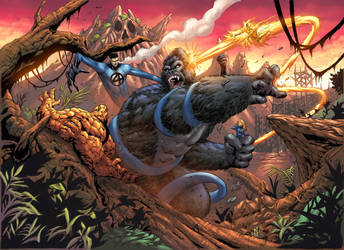 KONG VS FF by NesTHORcolors