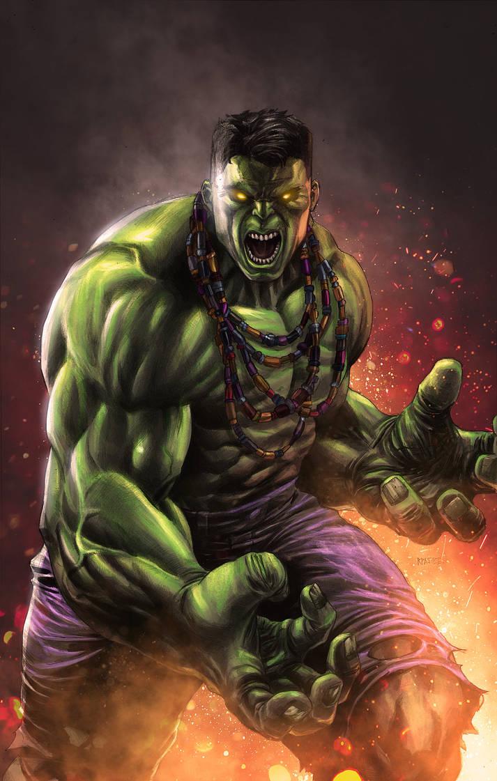 Hulk by NesTHORcolors