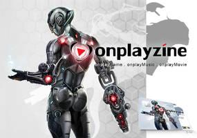 Onplayzine Member Card Design by ertacaltinoz