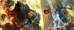 Diablo 3 Reaper of Souls Fan Art - Death Awaits by ertacaltinoz