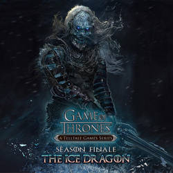 The Ice Dragon by ertacaltinoz