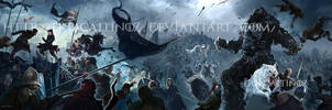 Battle of the Bastards by ertacaltinoz