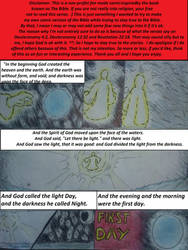 Bible Comics: The Book Of Genesis  Pg. 1 by SuperdarksideX5