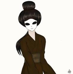 The Lady by JHEKSan2