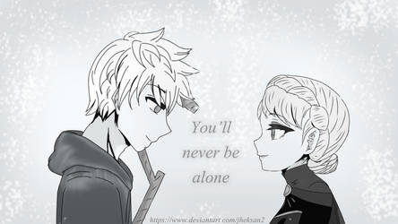 You'll never be alone~ by JHEKSan2