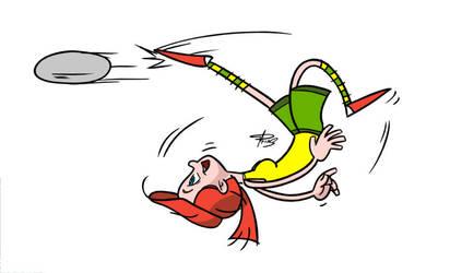 Marceline goal by DWUP
