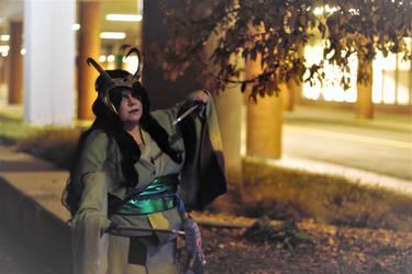 Lady Loki Kimono by TimeyWimeyWearables
