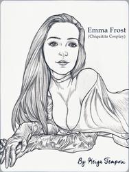 Emma Frost -Chiquitita Cosplay by KeiyaTempoui