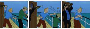 Clips from Tintin movie by Keinoji