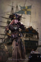 Steampunk pirate by doclicio
