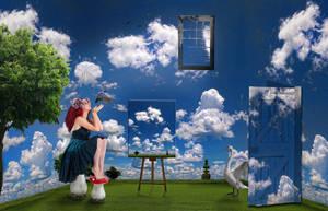 Sky in the room - Il cielo in una stanza by doclicio