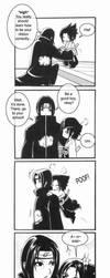 ItaSasu - Babysitting Sasuke by Kairei