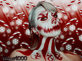 Peppermint Queen - Body paint by Vitani4000