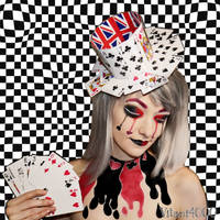 Queen of Cards - Body paint by Vitani4000