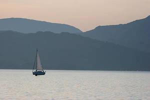 Misty Lake by slowriot