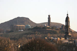 Calton Hill by slowriot