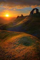 Castell Dinas Bran by slowriot