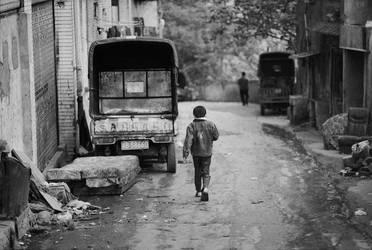 Slum Street by avotius