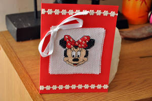 Minnie Mouse by VickitoriaEmbroidery