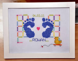Baby Sampler by VickitoriaEmbroidery
