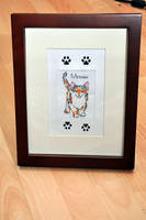Meow by VickitoriaEmbroidery