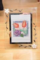 Macintosh Flowers by VickitoriaEmbroidery