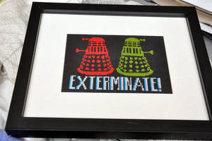 Exterminate by VickitoriaEmbroidery