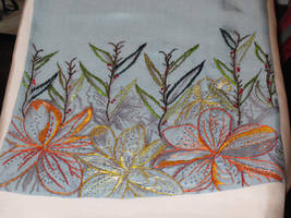 Embroidered Artwork 4 by VickitoriaEmbroidery