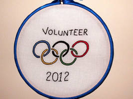 Olympics Hoop by VickitoriaEmbroidery