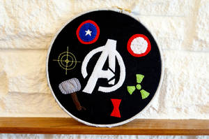 Avengers Assemble by VickitoriaEmbroidery