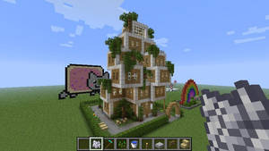 my minecraft house by ThePixelCreator