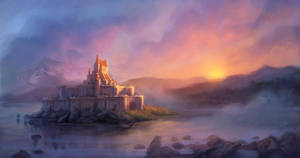 castle by dleoblack
