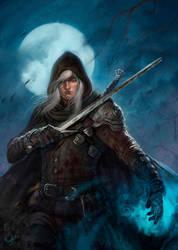 Geralt of Rivia by dleoblack