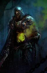 ghoul knight- speedy by dleoblack