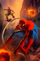 Spider man by dleoblack