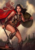 Athena by dleoblack